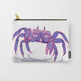 Purple Peacock Crab on the Run Carry-All Pouch