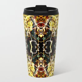 Chaos Tree Kaleidoscope 3 Travel Mug