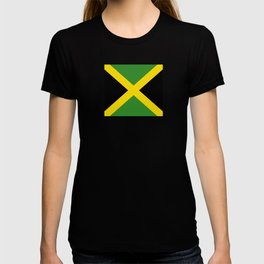 Flag of Jamaica-Jamaican,Bob Marley,Reggae,rastafari,weed,cannabis,ganja,america,south america,ragga T-shirt