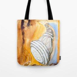 Horns Light Tote Bag