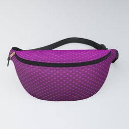 Purple Ombre with polka dots Fanny Pack