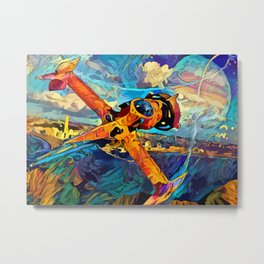 Spike´s SwordFish Metal Print