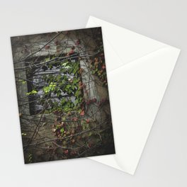 Vines Over a Window Stationery Cards