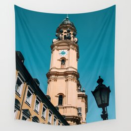 Tower of Theatinerkirche Munich Wall Tapestry