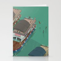 indonesia Stationery Cards featuring Toba - Indonesia by Joneta Witabora