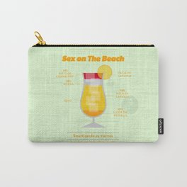 Sex on The Beach - Cocktails by Juan Carry-All Pouch