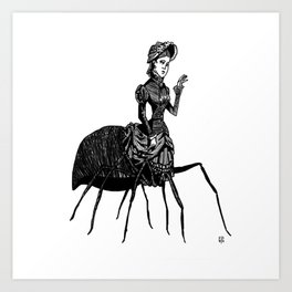 Goodbye Darling Art Print