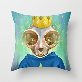 Lich Throw Pillow