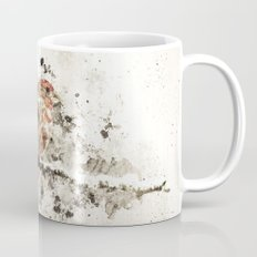 House Finch Splatter Mug