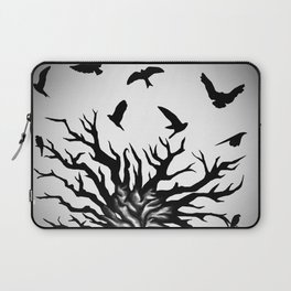 under dry roots. Laptop Sleeve