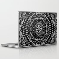 ethnic Laptop & iPad Skins featuring Ethnic ornament by Julia Badeeva