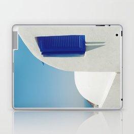 Santorini Blue & White Window Laptop & iPad Skin