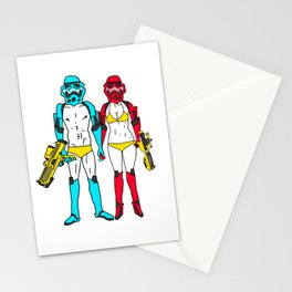 Mr. and Mrs. Storm Stationery Cards