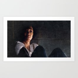 Sasha In Her Final Resting Place - The Walking Dead Art Print