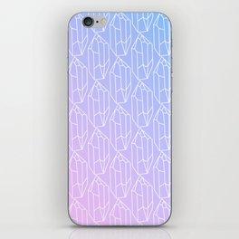 Crystal Pattern iPhone Skin
