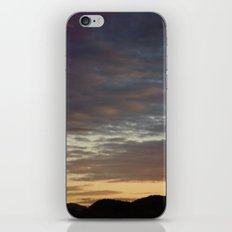 Cloudy Sunset iPhone & iPod Skin