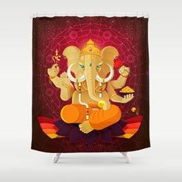 Ganesha | Animal Gods Shower Curtain