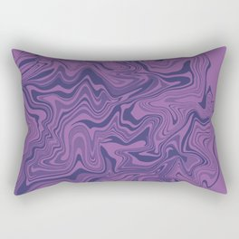 Two-toned purple Agate Rectangular Pillow