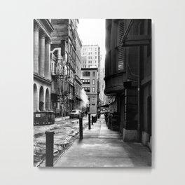 Moravian Street Metal Print