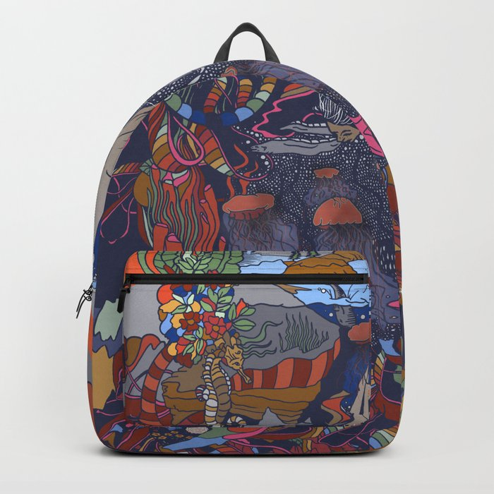 Dive into the Unknown Backpack