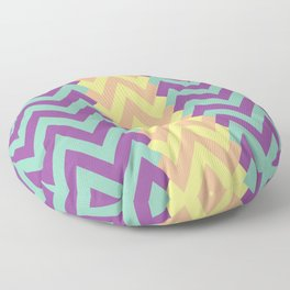 Zig Zag Design Floor Pillow