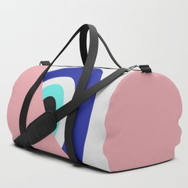 Devil eye pink hide Duffle Bag