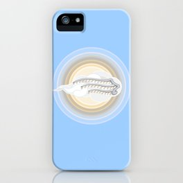 """...the sun of righteousness will rise with healing in his wings..."" Malachi 4:2 iPhone Case"