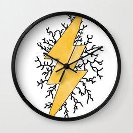 Static Quake Wall Clock