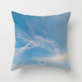 Hummingbird Cloud by Teresa Thompson Throw Pillow