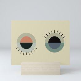 day eye night eye Mini Art Print