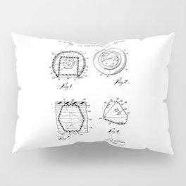 Magic Eight-Ball Patent Pillow Sham