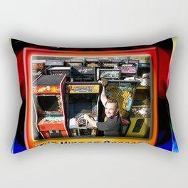 The King of Arcades Card Rectangular Pillow