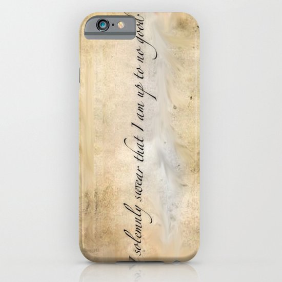 I solemnly swear I am up to no good iPhone & iPod Case