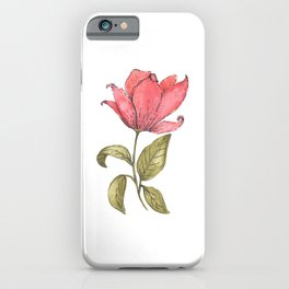 Flower Illustration / Magnolia iPhone Case