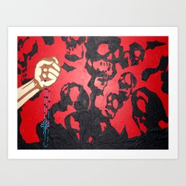 Good VS Evil Art Print