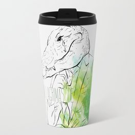 Lloras con lágrimas de cocodrilo (you cry with cocodrile tears) Travel Mug