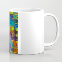Uplifting Collage (fluo) Coffee Mug