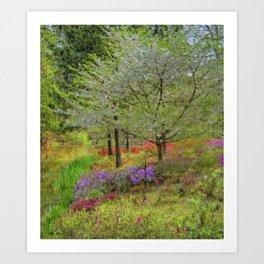 Monet Landscape Art Print