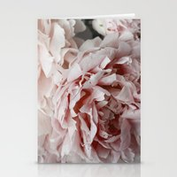 peonies Stationery Cards featuring Peonies  by Pure Nature Photos
