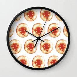 Tomatovaganza 01 Wall Clock
