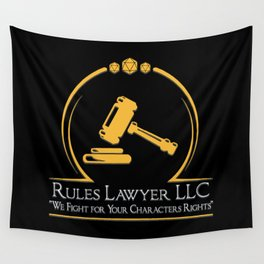 D&D - Rules Lawyer Wall Tapestry