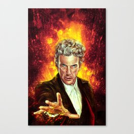 The Last of the Time Lords Canvas Print