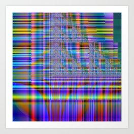 Fractal Composition N5 Art Print