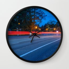 Light Trail Wall Clock