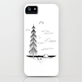 Droopy Tree iPhone Case