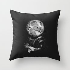 Moonalisa Throw Pillow