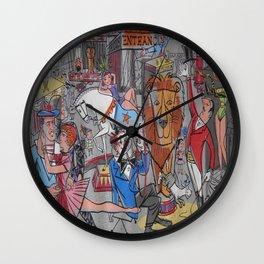 Vintage poster - Circus #2 Wall Clock