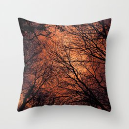 The Enchanted Forest 2 Throw Pillow