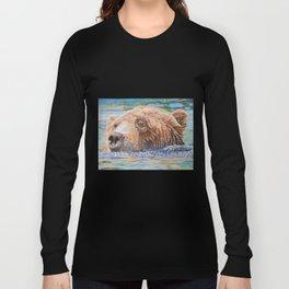Brown Bear Columbus Zoo Long Sleeve T-shirt
