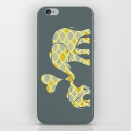 Elephant Hugs iPhone Skin